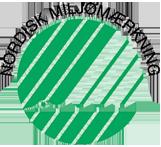 Grøn virksomhed med  svanemærkede produkter 